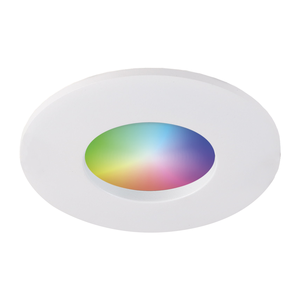 Homeylux Smart WiFi RGBWW LED Recessed spot Barcelona white GU10 5 Watt IP44