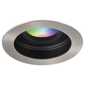 Homeylux Intelligenter WiFi LED-Einbaustrahler Mesa RGBWW Schwenkbar IP20