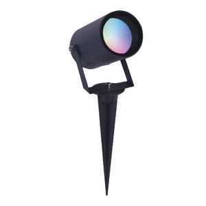 Homeylux Smart WiFi LED Gardenspike Spikey aluminium anthracite RGBWW IP65