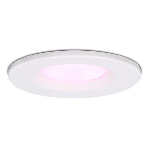 Homeylux Smart WiFi Dimmable RGBWW LED recessed spot white Venezia 6 Watt IP65