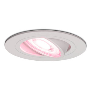 Homeylux Smart WiFi LED recessed spotlight Pittsburg dimmable RGBWW tiltable white IP20