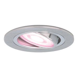 Homeylux Intelligenter WiFi LED-Einbaustrahler Chandler RGBWW Schwenkbar IP20