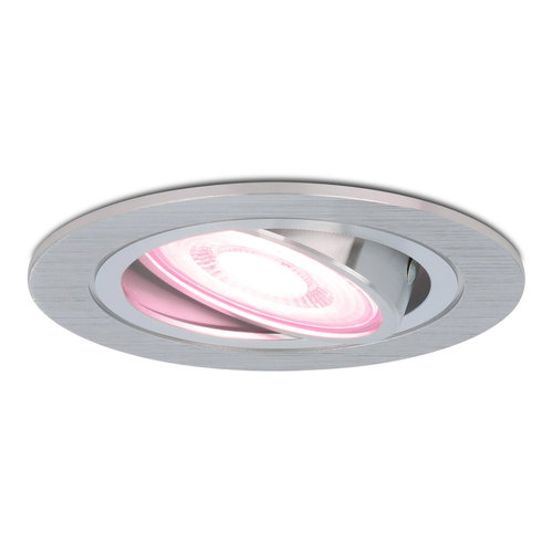Homeylux Smart WiFi LED inbouwspot Chandler RGBWW kantelbaar IP20