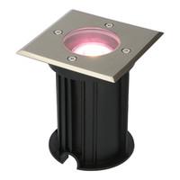 WiFi LED ground light square Ramsay RVS RGBWW IP67