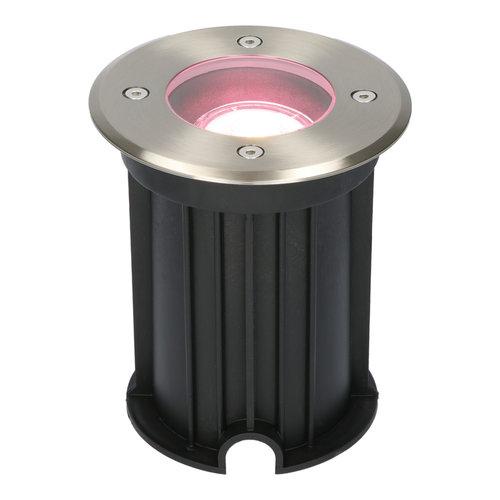 Homeylux Maisy Smart WiFi LED ground light round stainless steel RGBWW IP67 waterproof 3 years warranty