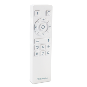 Homeylux Smart Funkfernbedienung RGB+CCT Weiß - WiFi