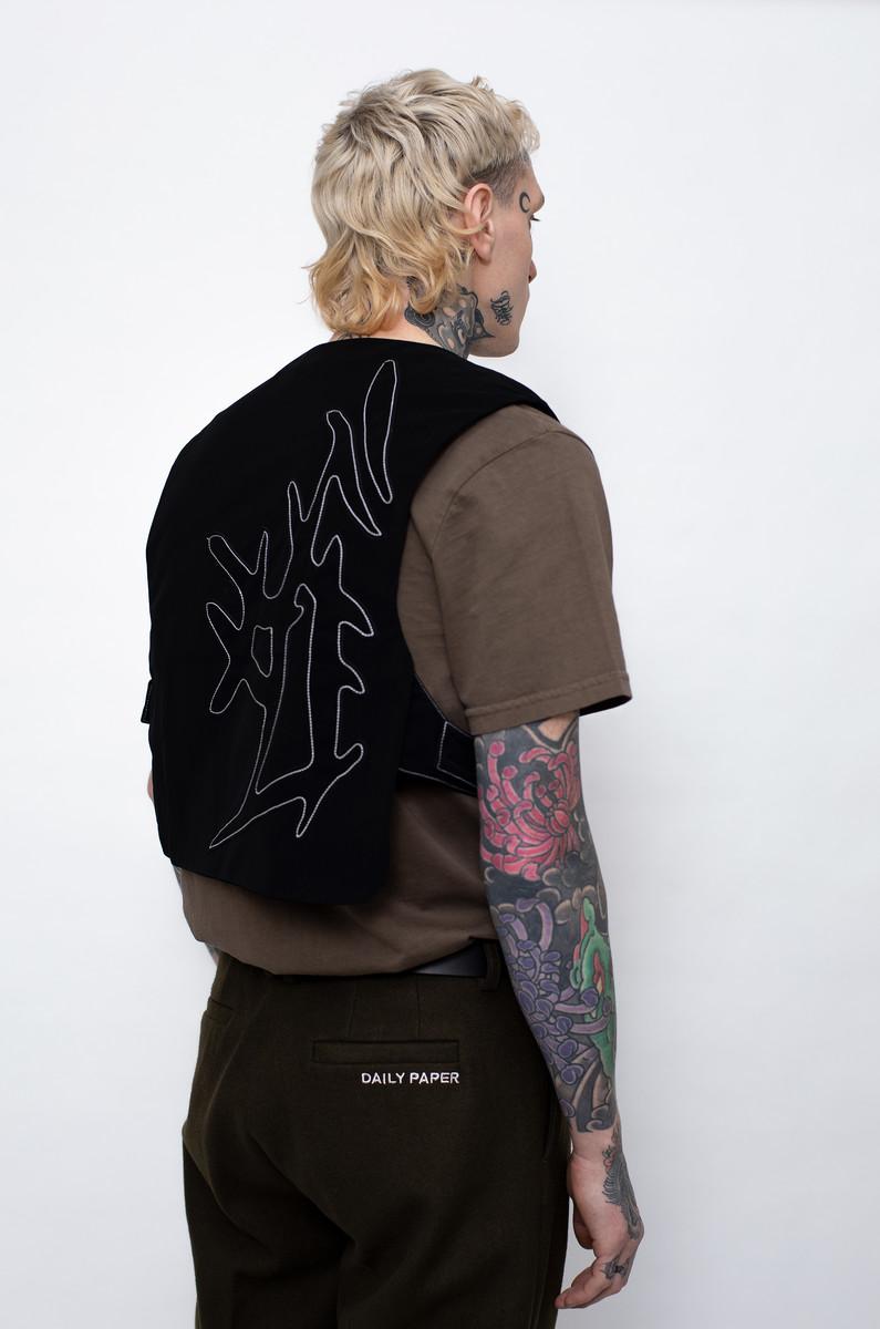 Daily Paper Daily Paper Jone Vest Black