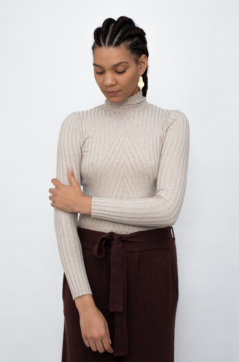 NORR NORR Chelsea LS Knit Top