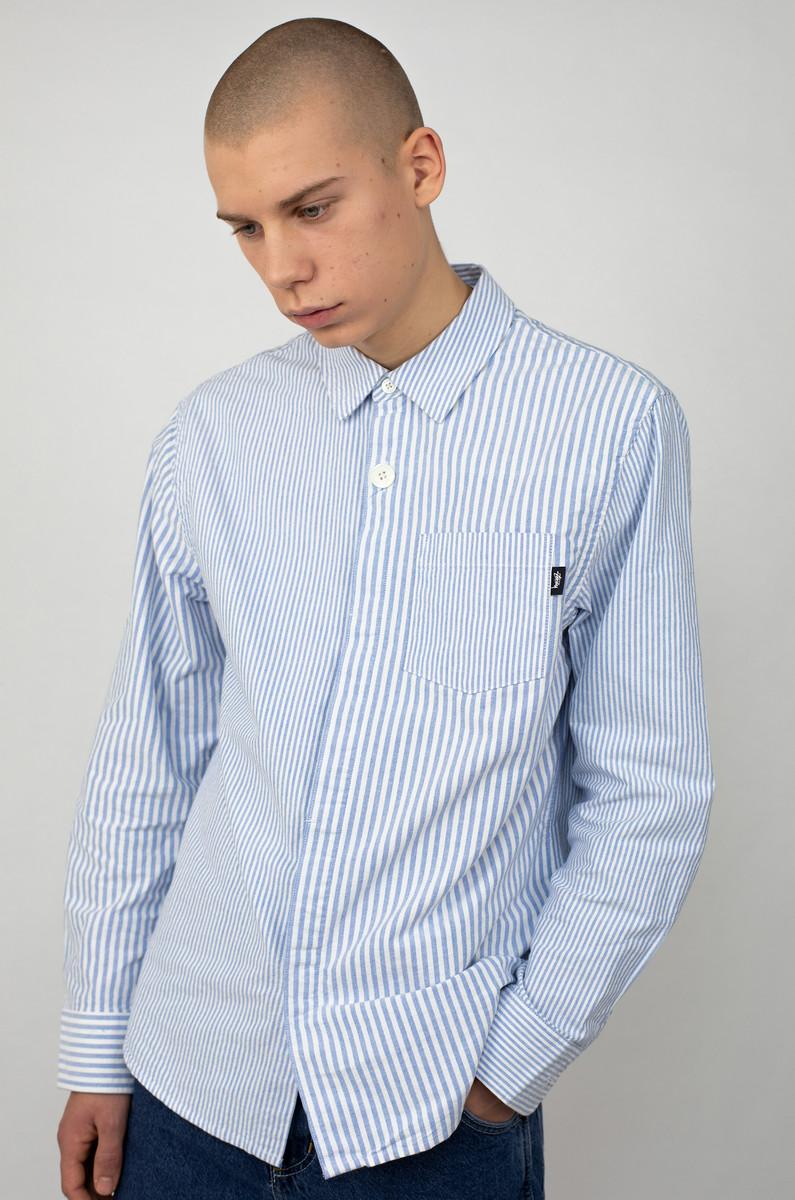 Stüssy Stüssy Big Button Oxford LS Shirt