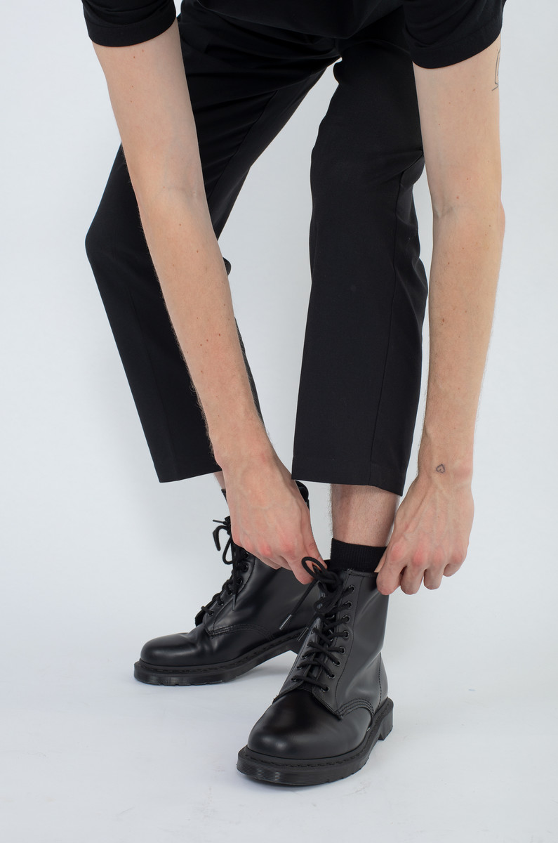 Dr. Martens Dr. Martens 1460 Mono Black Smooth Boots