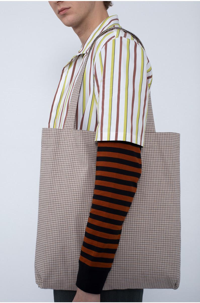 mfpen Check Tote Bag