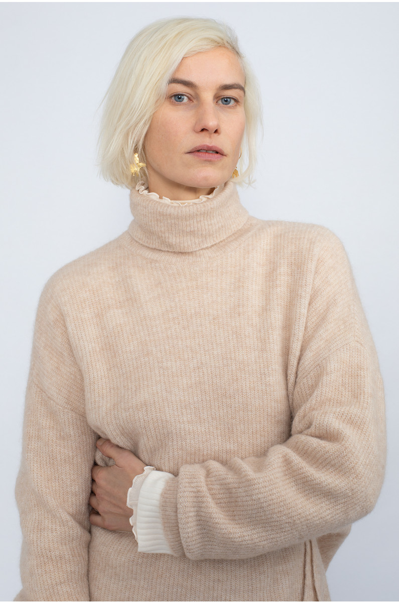NORR Nordby Roll-Neck Sweater