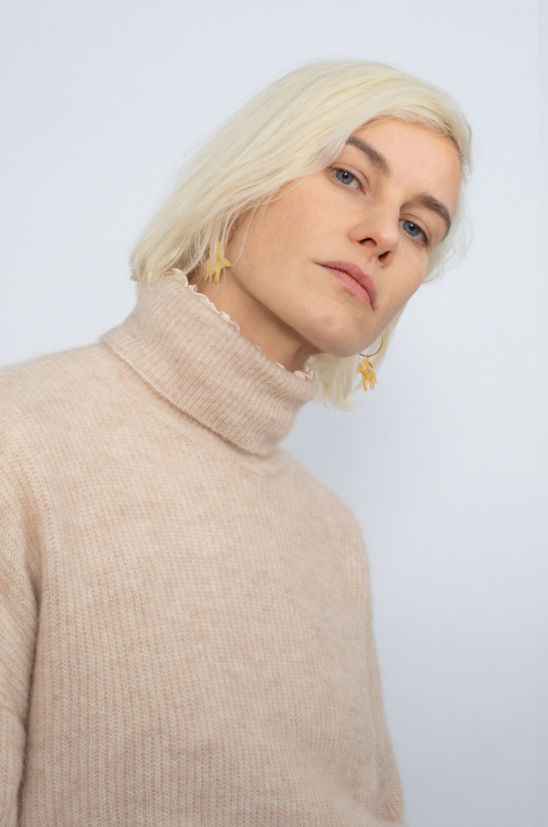NORR NORR Nordby Roll-Neck Sweater
