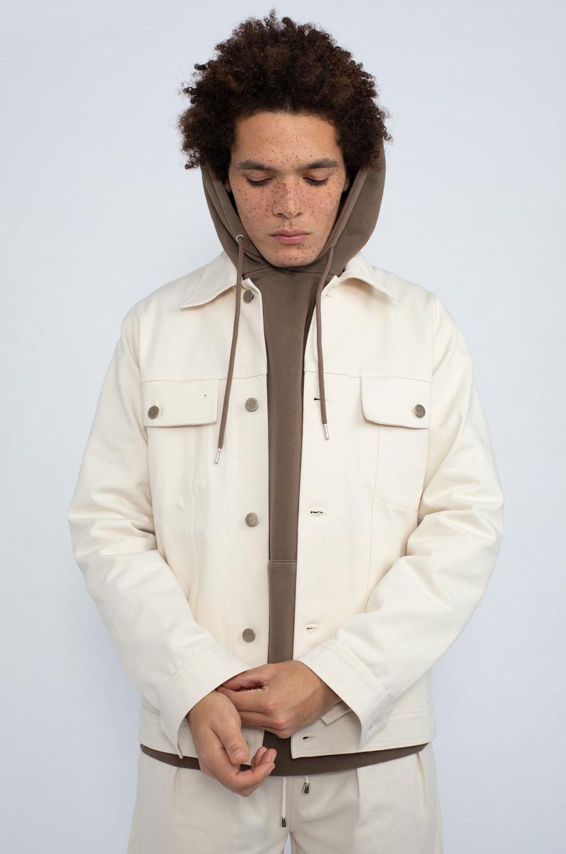 North Hill North Hill Button-Up Denim Jacket