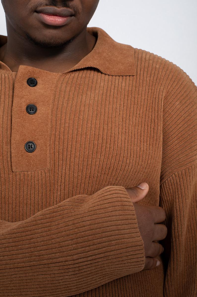 mfpen mfpen LS Polo Knit