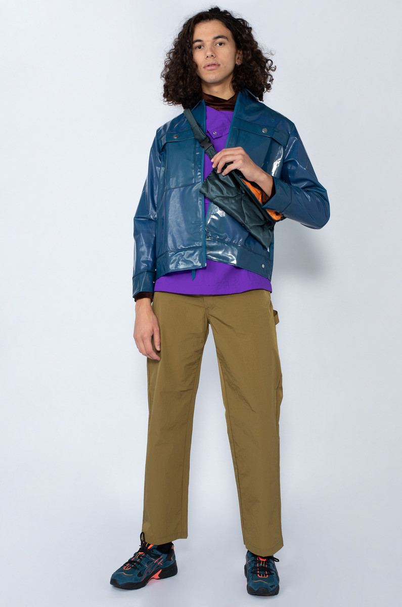 Rains LTD Boxy Glossy Jacket