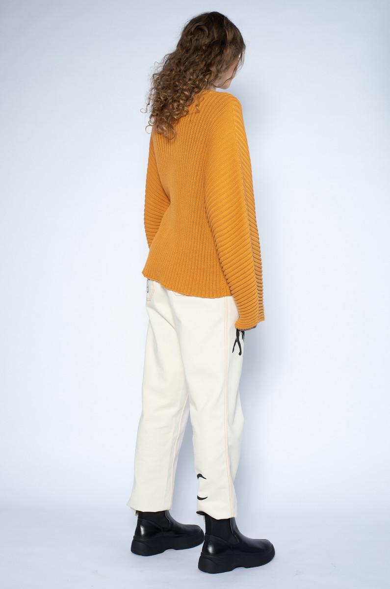 Baserange Baserange Kai Sweater Cotton Rib
