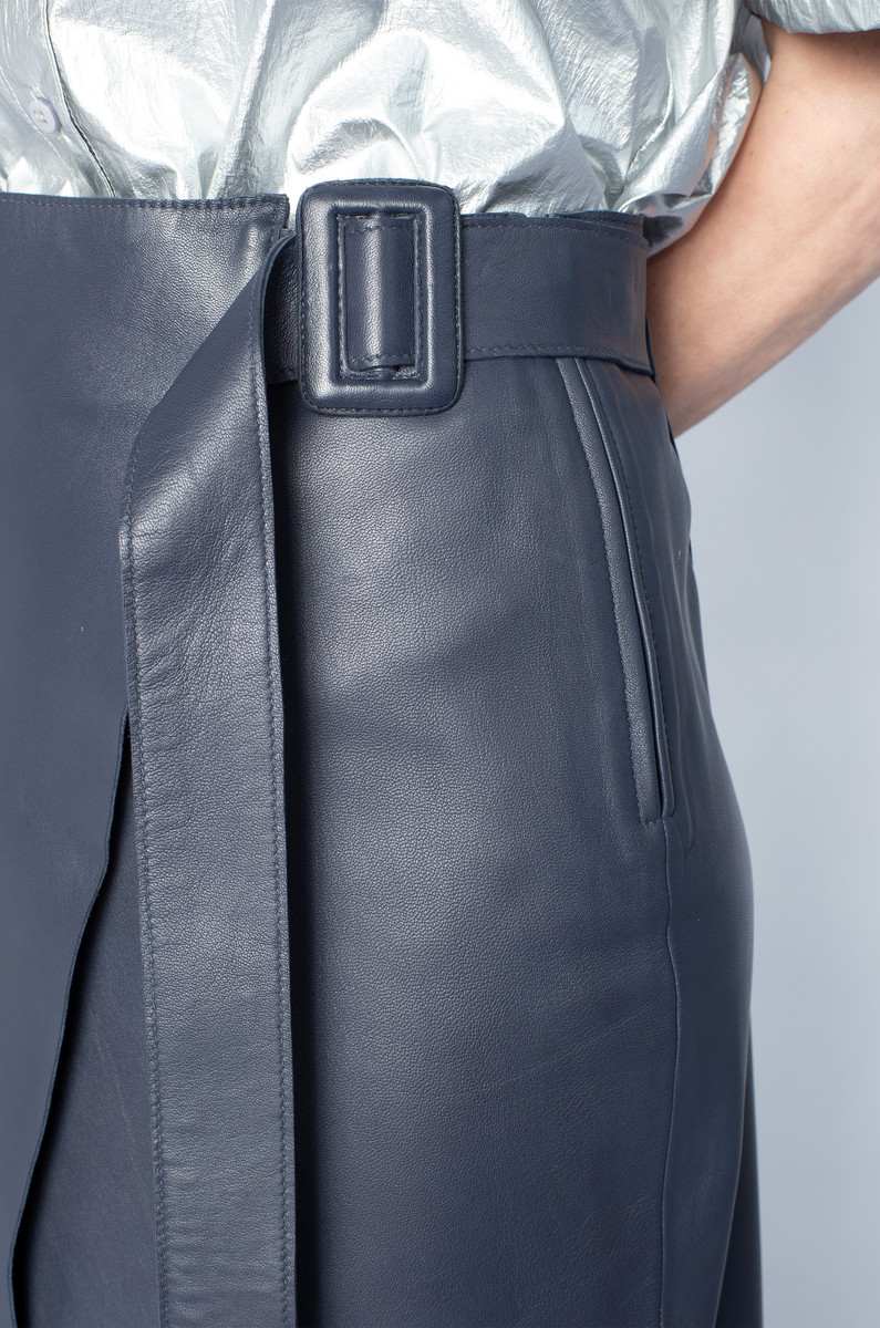 NORR NORR Alba Leather Skirt