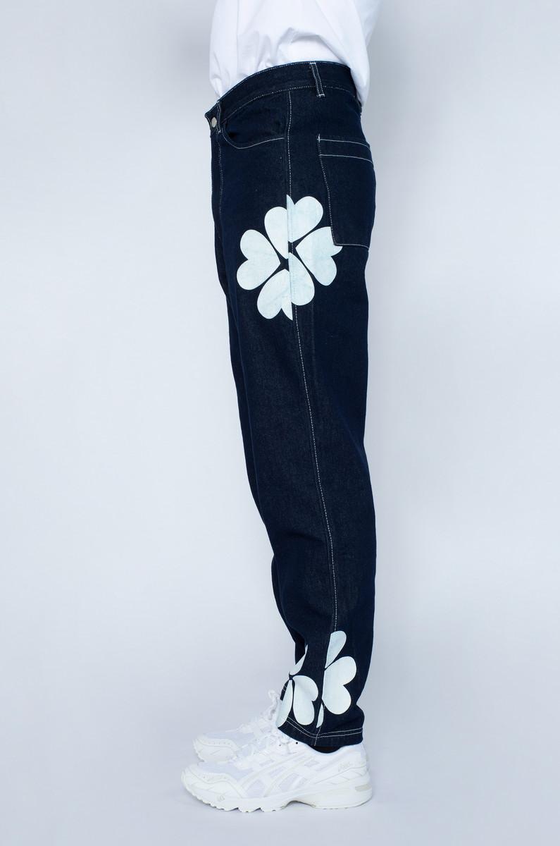 Arte Arte Penny Trevo Pants Navy/White