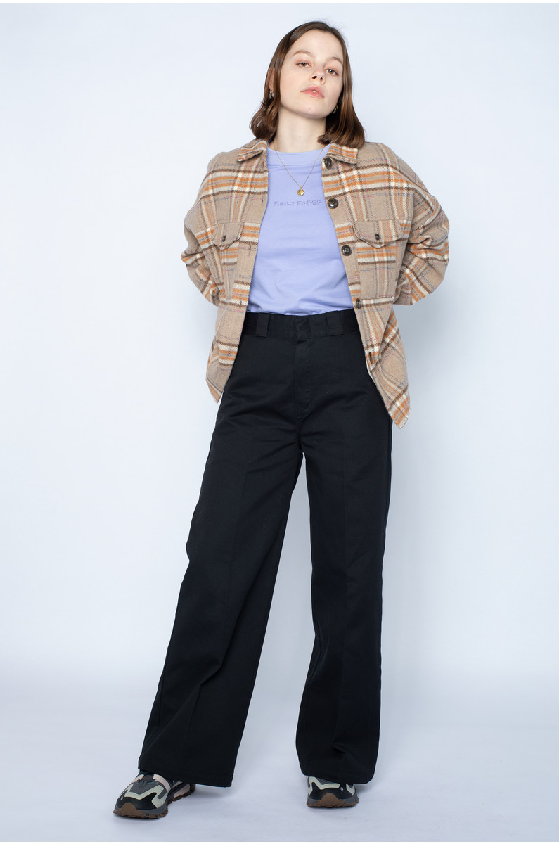 Native Youth Dominica Wool Check Jacket