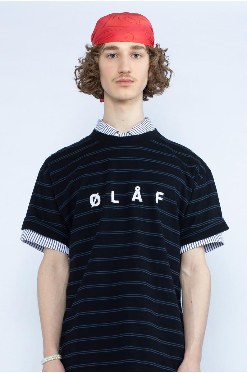Olaf Hussein Mini Stripe Tee