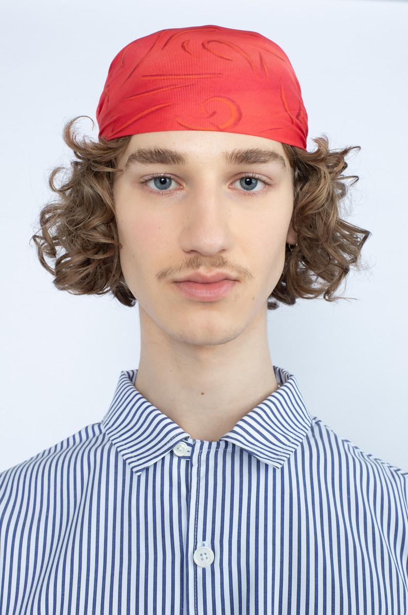 Olaf Hussein Olaf Hussein SS Stripe Shirt