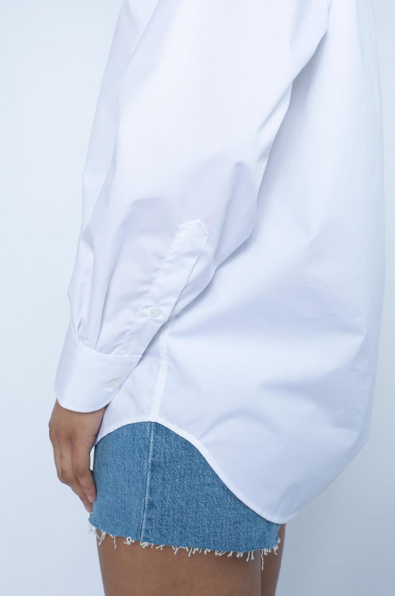 Baserange Baserange Ole Shirt White Popeline