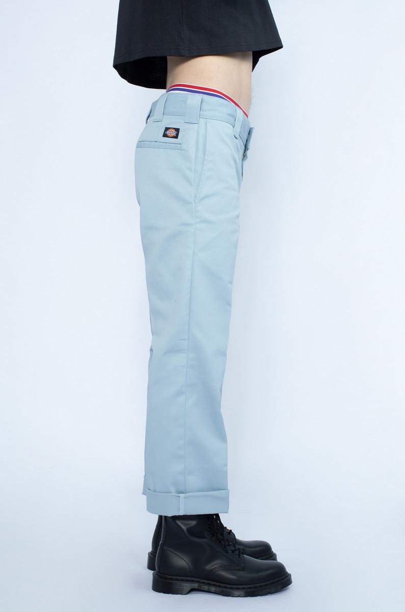 Dickies Dickies Slim Straight Work Pant Fog Blue