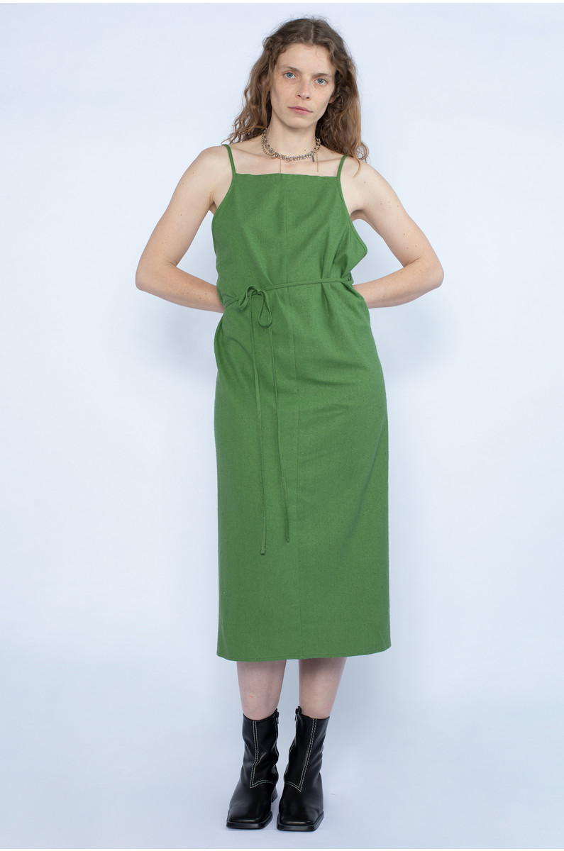 Baserange Yumi Apron Dress Sun
