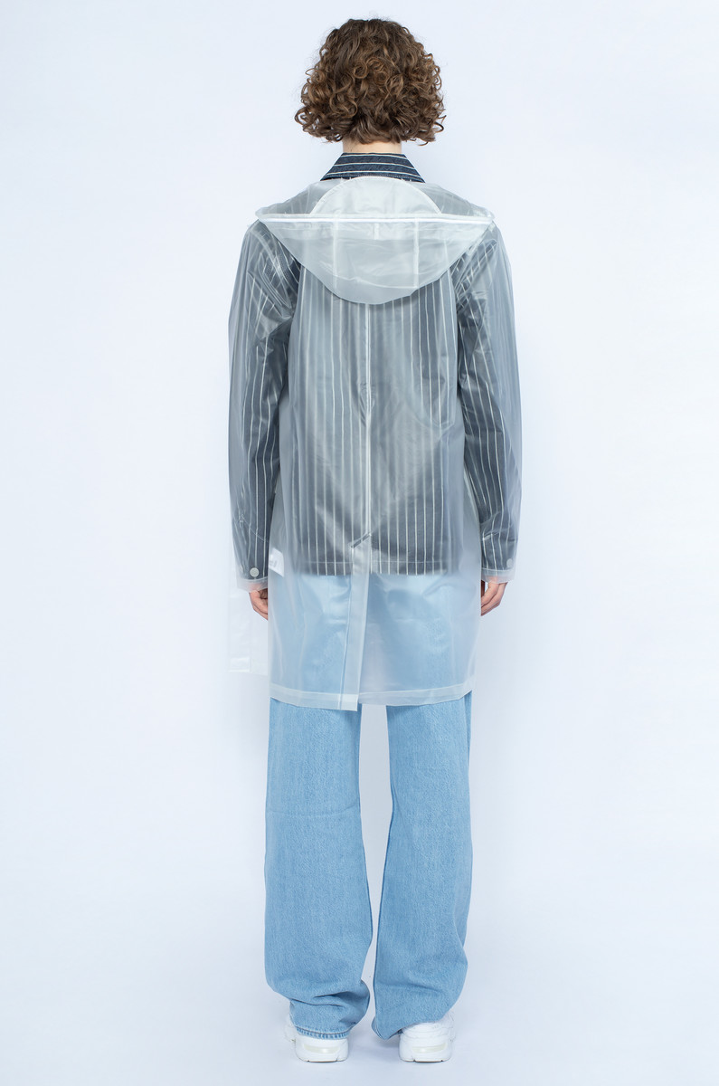 Rains Transparent Hooded Coat