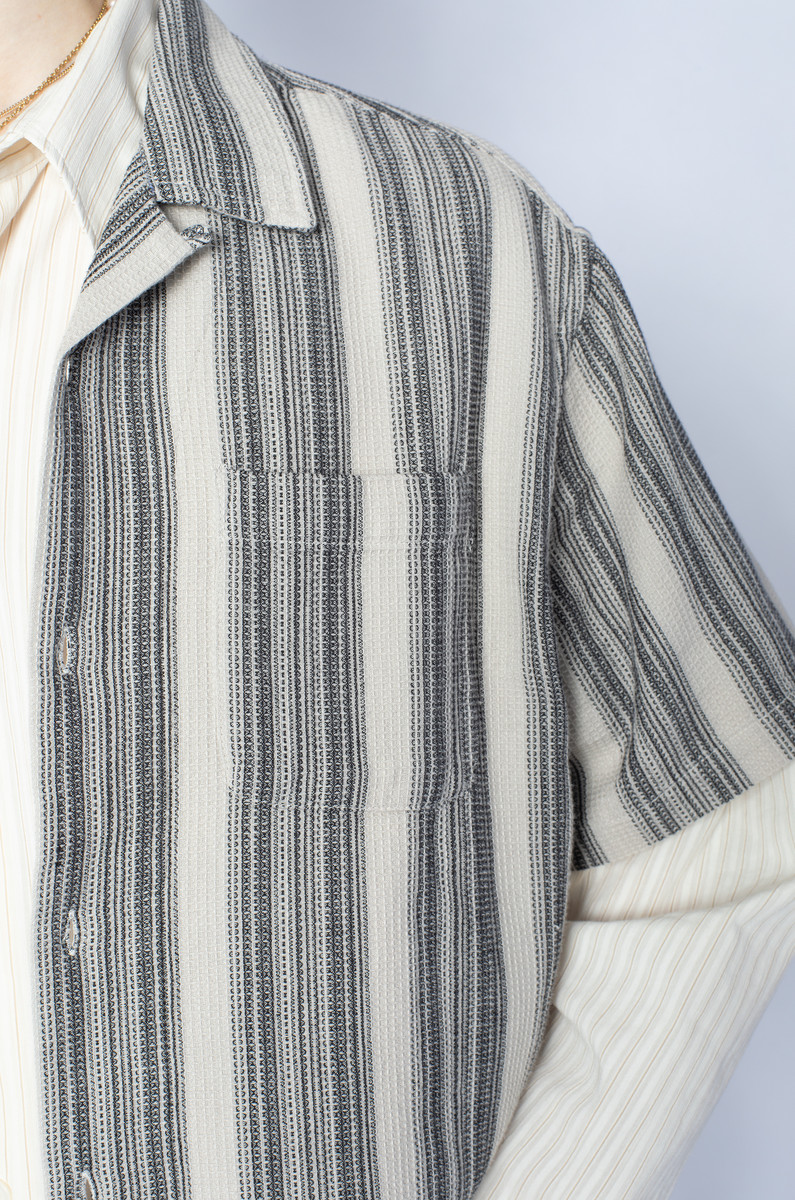 Stüssy Stüssy Waffle Stripe Shirt