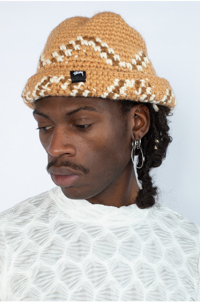 Stüssy Giza Knit Bucket Hat