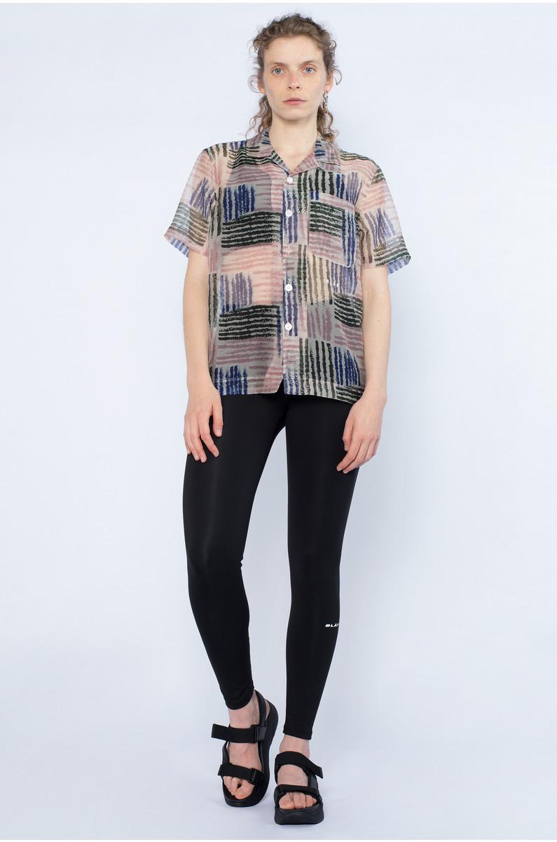 Olaf Hussein Sheer Stripe Shirt