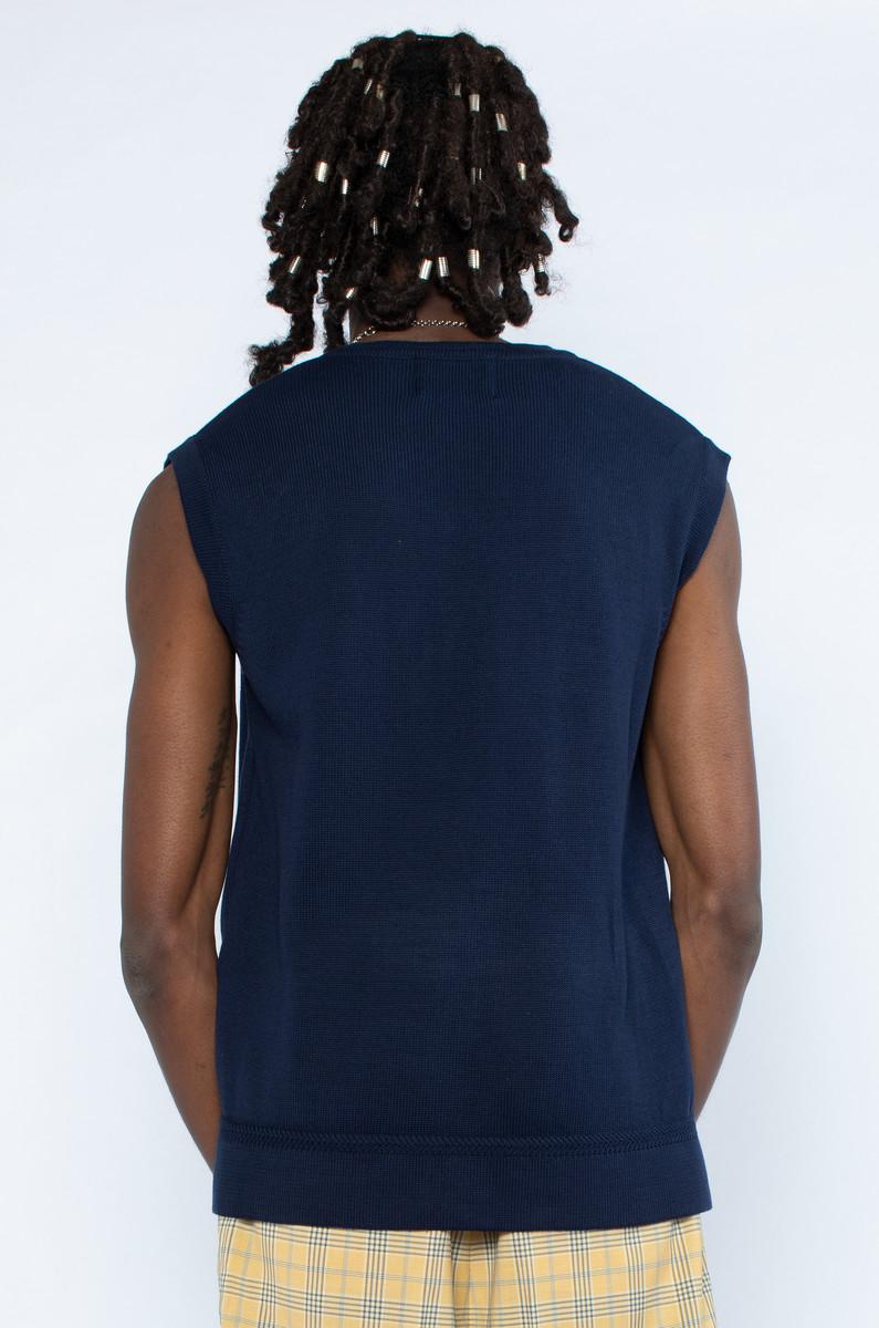 Arte Arte Victor Label Sweater Vest