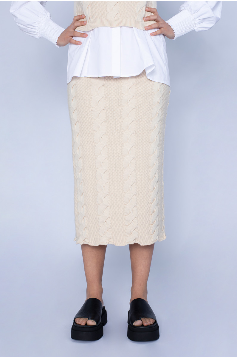 Native Youth Luxe Knitted Skirt