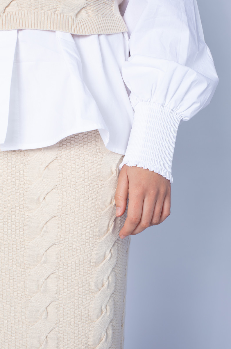 Native Youth Native Youth Luxe Knitted Skirt