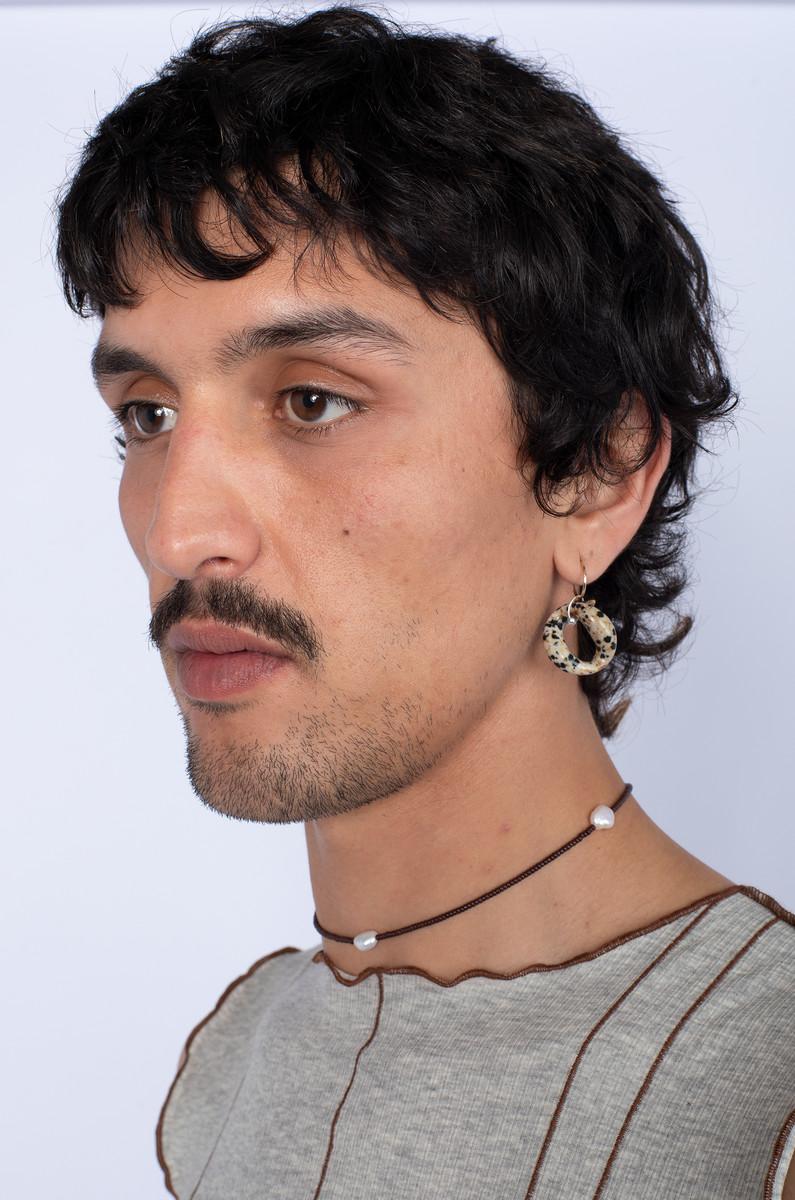 Santangelo Santangelo Bad Orb Earring