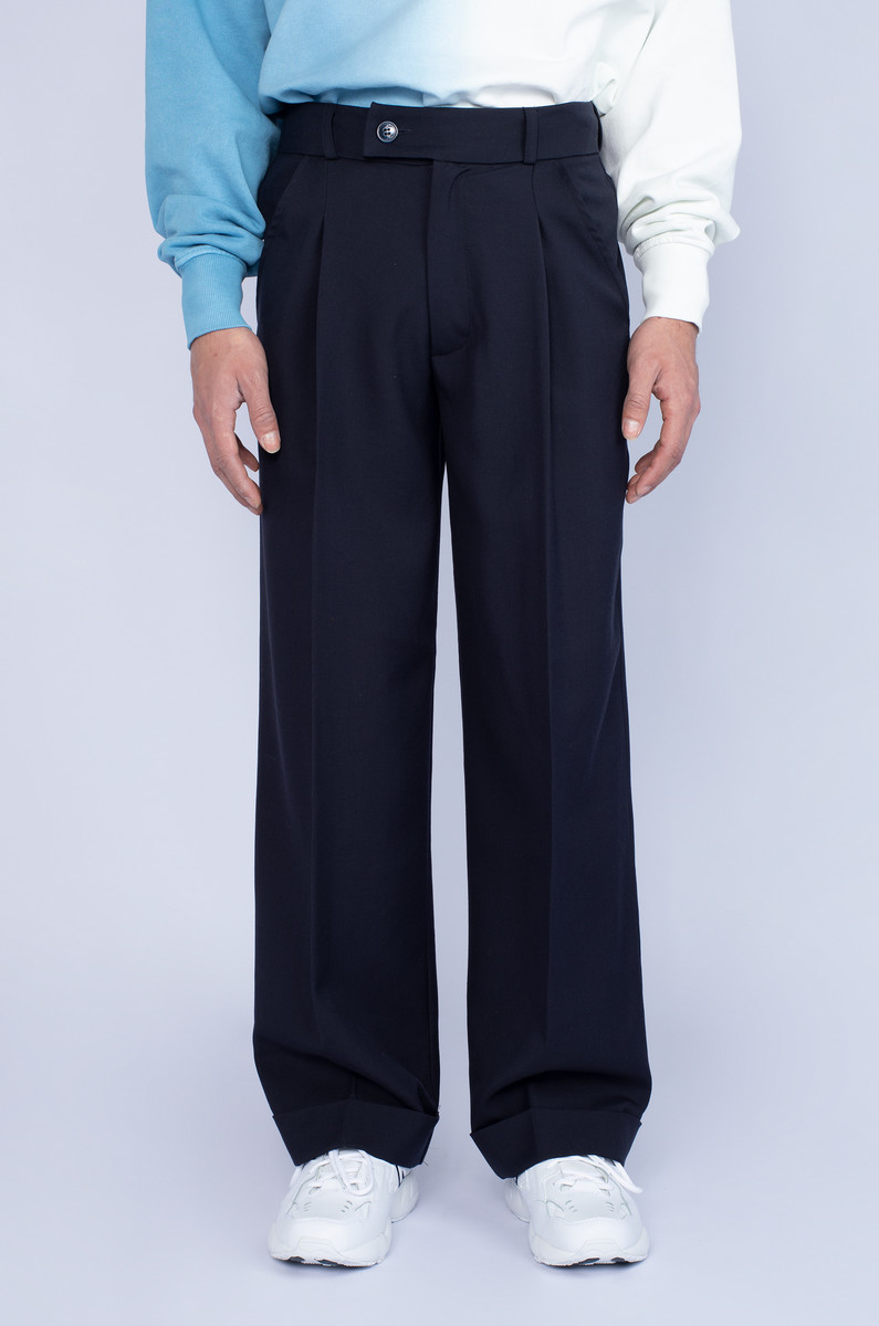 North Hill North Hill Wide Leg Pant Wool