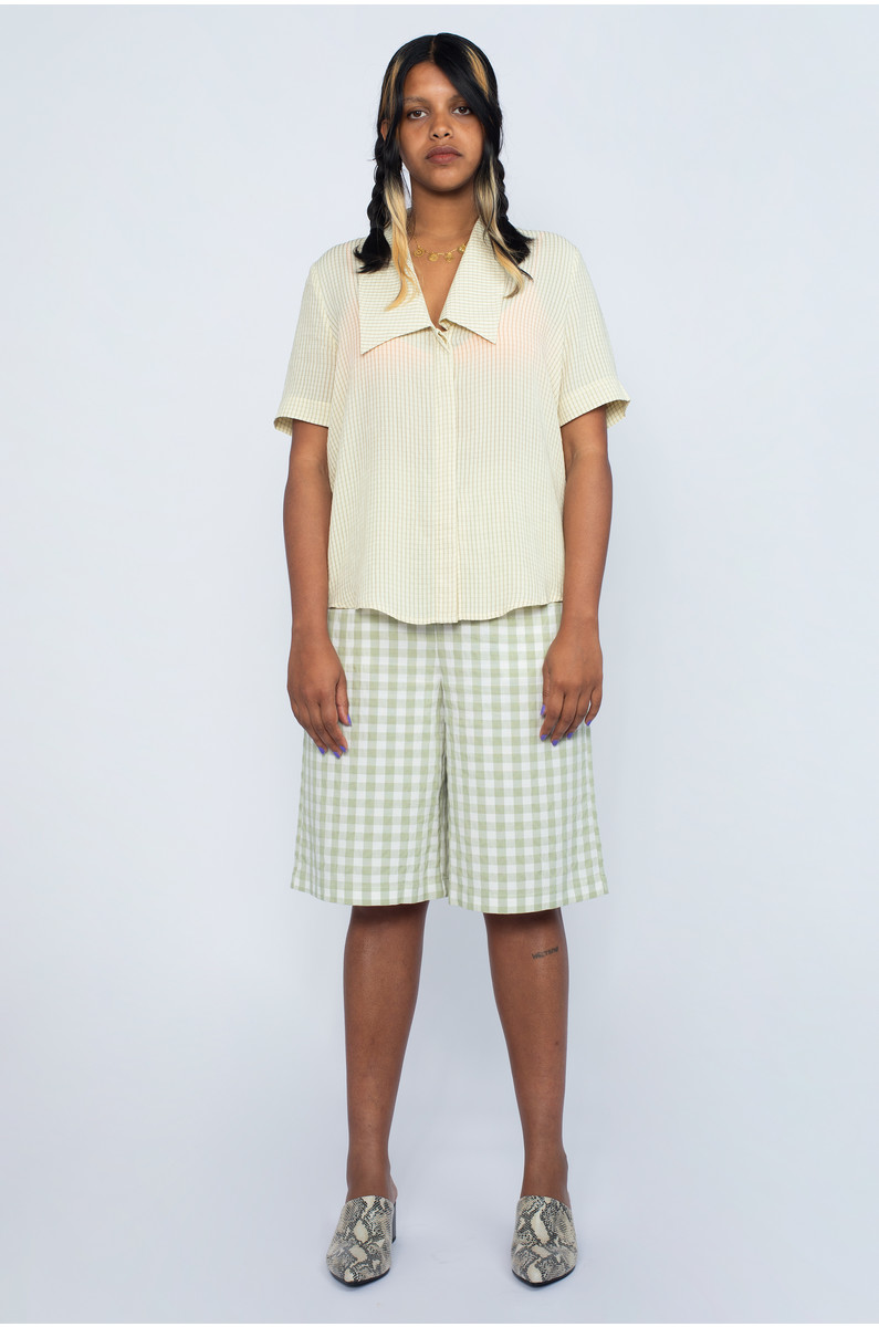 Native Youth Gingham Short