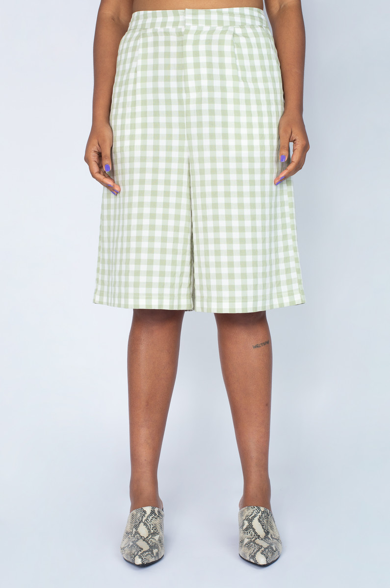 Native Youth Native Youth Gingham Short