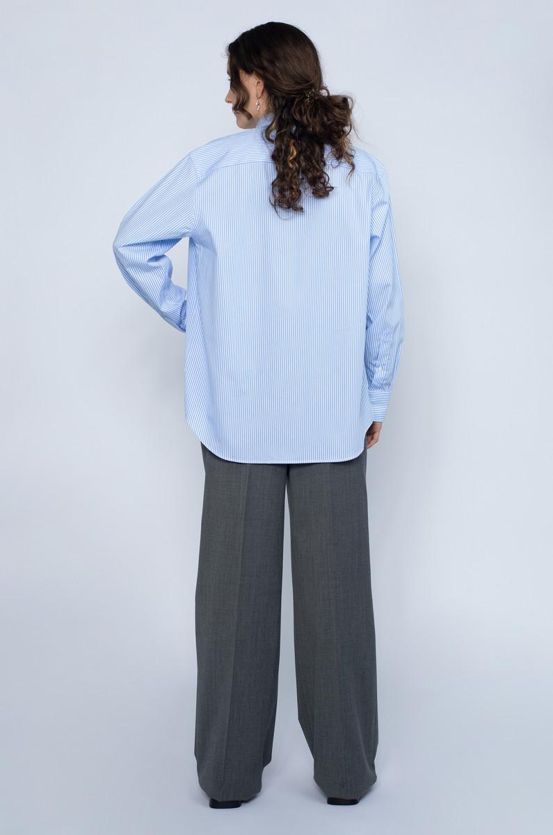 Baserange Baserange Ole Shirt Blue