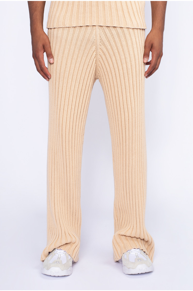 Baserange Maru Pants Cotton Rib
