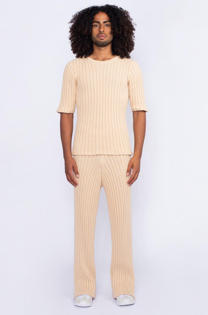 Baserange Baserange Maru Pants Cotton Rib