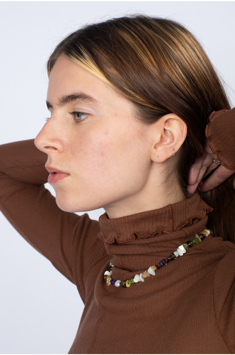 Santangelo Pray For Sex Necklace