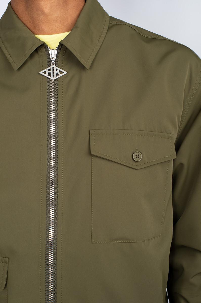 Han Kjobenhavn Han Kjobenhavn Army Shirt Zip