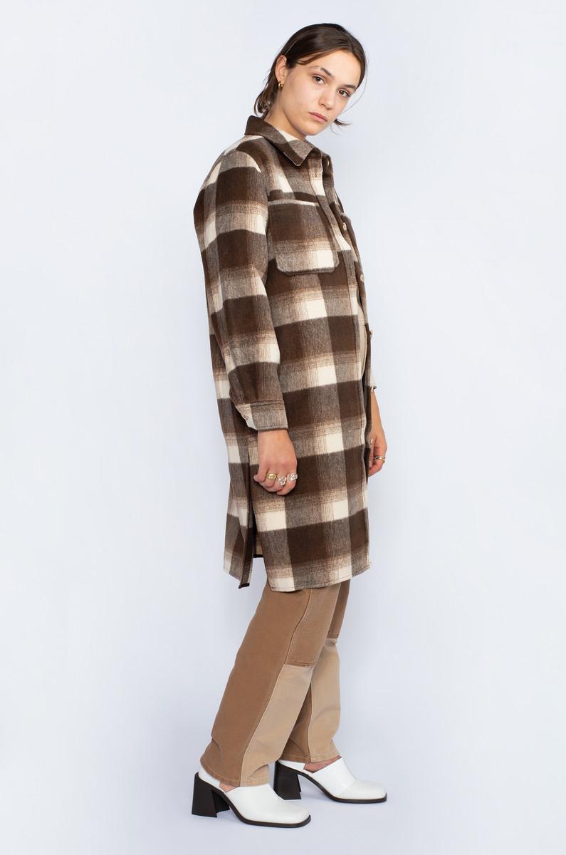 NORR NORR Helia Long Check Shirt