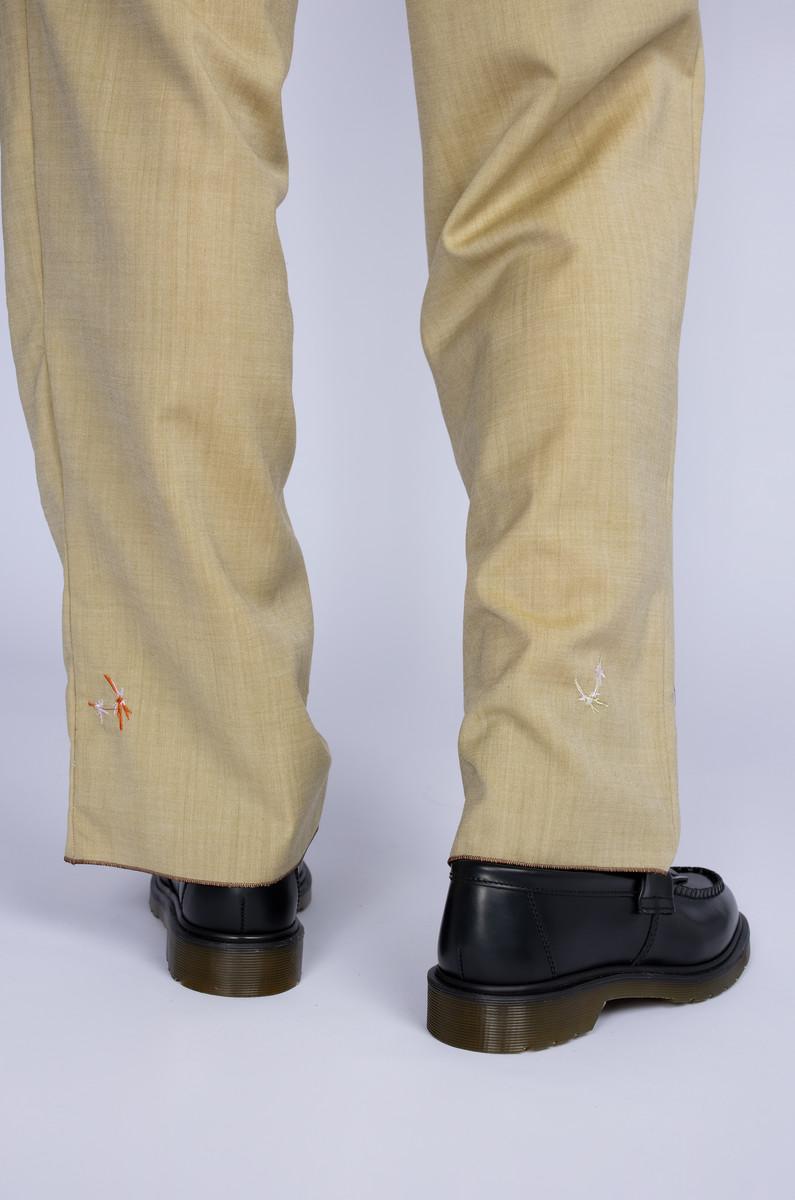 Paule Josephe Paule Josephe trousers with mythical figures, stars