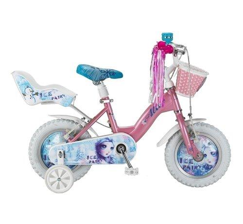 NIHIL Altec Ice Fairy 12 inch Roze meisjesfiets