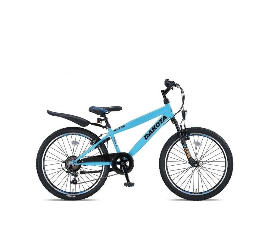 Altec Dakota 24inch Jongensfiets 7speed Neon Blue RRR
