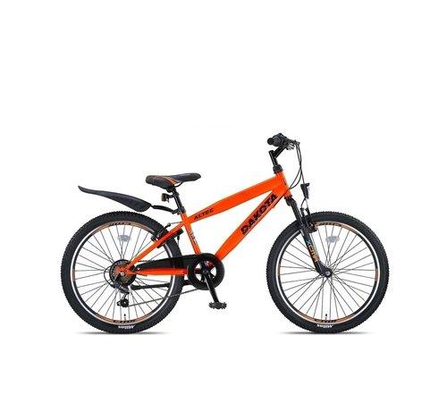 NIHIL Altec Dakota 24inch Jongensfiets 7speed Neon Orange